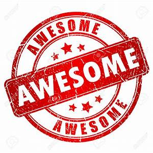 25993602-Awesome-stamp-Stock-Vector-awesome-job | On A ...