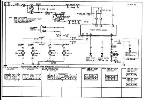 Mazda Turn Signal Wiring Diagram Trusted