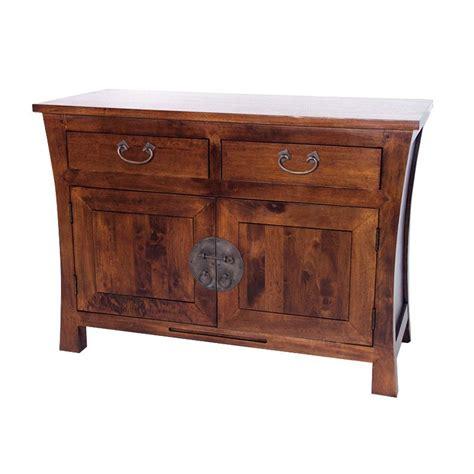 porte serviette cuisine bahut chine hévéa meuble bois exotique