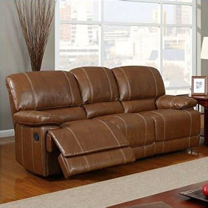 leather power reclining sofa and loveseat the best reclining leather sofa reviews seth genuine