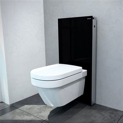 wall hung toilet geberit monolith for wall hung toilets uk bathrooms