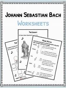 Johann Sebastian Bach Worksheets Facts U0026 Biography