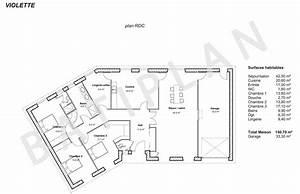 plans et permis de construirenotre plan de maison violette With maison a construire plan