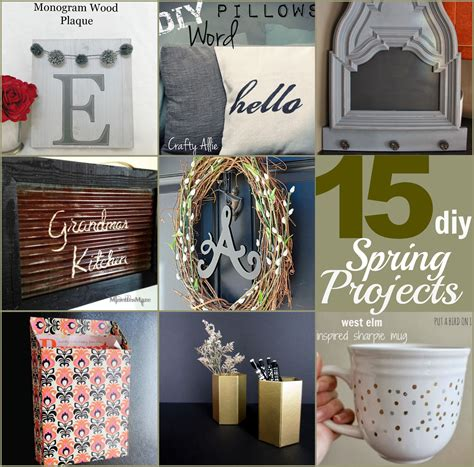 A Great List Of 15 Incredible Diy Spring Projects With