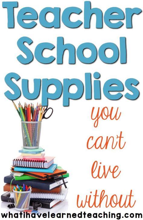 best 20 supplies ideas on 985 | 13acdd6b2be48d09daf4643a1a1341d4 teacher supplies list preschool supplies