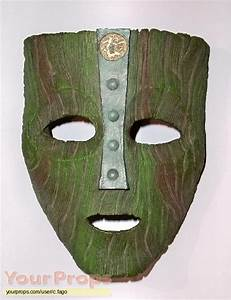 The Mask Mask of Loki replica movie prop