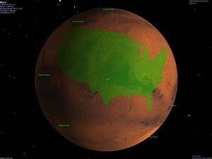 Olympus Mons (Mars) compared to France [1000x1000][OS ...