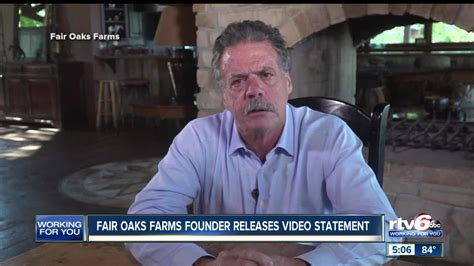fair oaks founder releases video statement apologizing