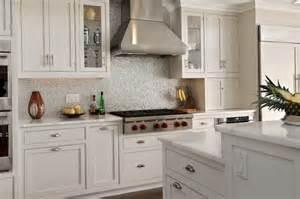 Backsplash Tile Ideas For Small Kitchens Small Square Tile Backsplash Home Design Ideas