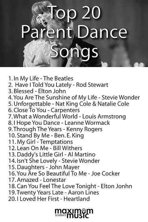 top 20 parent dance songs maximum music toronto dj