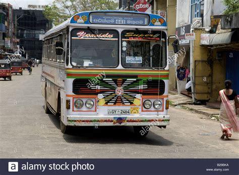 sri lanka bus stock  sri lanka bus stock images alamy