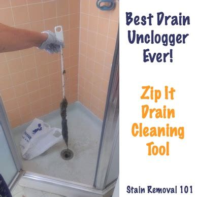 Best Shower Drain Unclogger - simple chemical free drain unclogger zip it drain