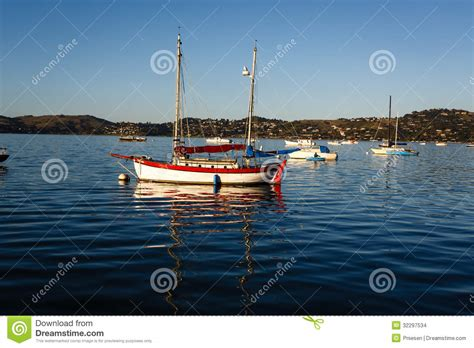 colorful wooden sail boat stock images image