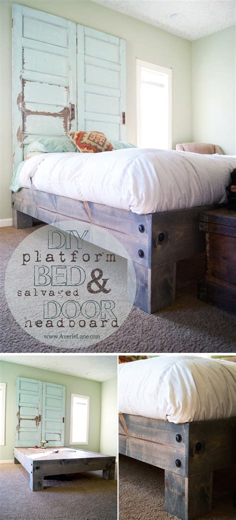 diy bed frame 36 easy diy bed frame projects to upgrade your bedroom