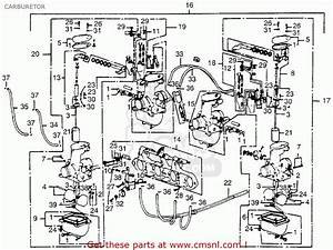 1983 Honda Cb 550 Nighthawk Wiring Diagram