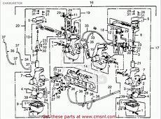 Honda Cb550f Super Sport 550 Four 1976 Usa Carburetor