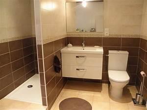 entreprise zaccaro agencement de salle de bains artisan With salle de bain couleur chocolat