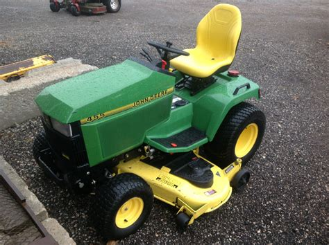 Used Mower Decks On Ebay by Deere 455 Lawn Tractor 60 Quot Deck Used Ebay