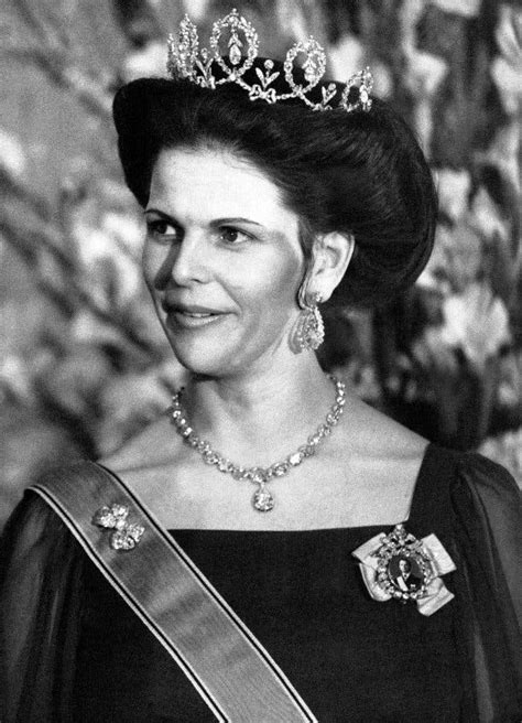 A Look Back Through The Years As Queen Silvia Of Sweden ...