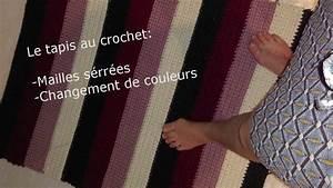 Tapis En Crochet : tapis au crochet youtube ~ Teatrodelosmanantiales.com Idées de Décoration