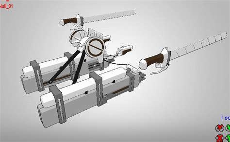 three dimensional maneuver gear mmd by narutoxbase d6n18wu