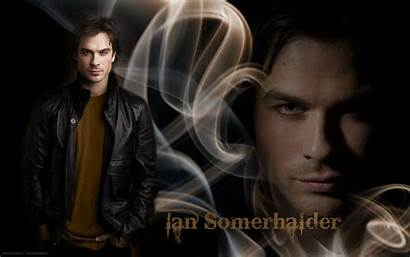 Somerhalder Ian Vampire Diaries Damon Salvatore Wallpapers