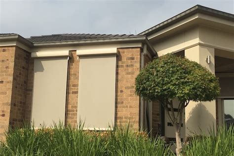 exterior vertical blinds melbourne outdoor window treatments