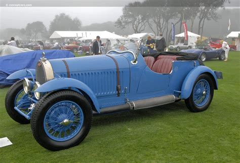 The instrument panel was flat and the dials were installed on the left side of the driver. 1931 Bugatti Type 44   conceptcarz.com