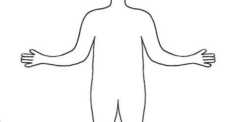 Free Printable Body Outline Template