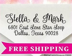 Wedding address stamp 4550 return address envelopes for Return address envelopes for wedding invitations