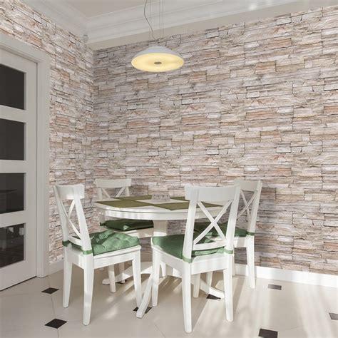 Wohnzimmer Wand Steine Wohnzimmer Design Wand Stein Selbstklebende