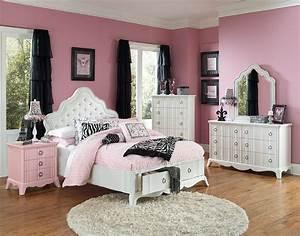 Girls full size bedroom sets home furniture design for Full size bed sets