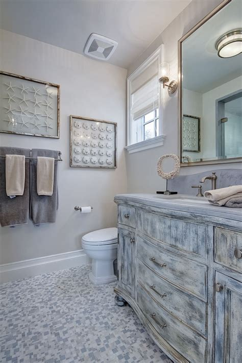 Distressed Bathroom Cabinets by Cape Cod California House Home Bunch Interior