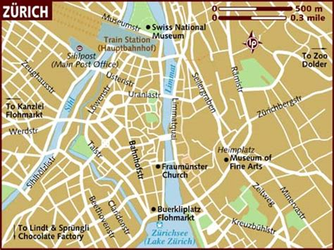 maps map zurich