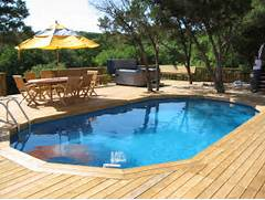 Swimming Pool Ideas With Deck Pool Deck Backyard Pool Deck Designs Exterior Picture Pool Deck
