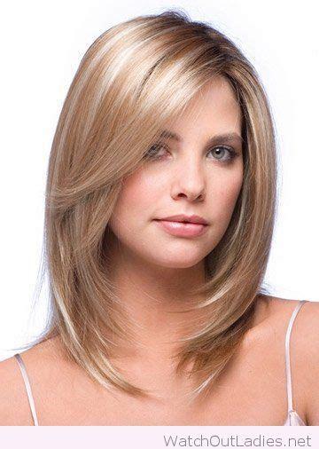 thin hair style amazing layered medium length hair cut watchoutladies 5117