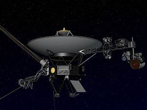 Artist's concept of NASA's Voyager spacecraft. Image ...