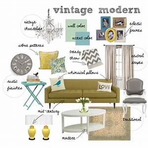 Quotvintage Modern Living Roomquot By Mrsraquelm On Polyvore A
