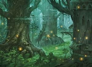 fantasy forest village - Google Search | Forest Home ...
