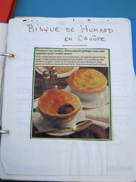 classeur recette cuisine le classeur de recettes de mamie soupe la cuisine de