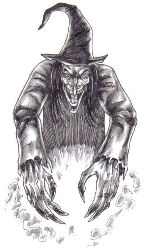 witch drawing  paintingvalleycom explore collection