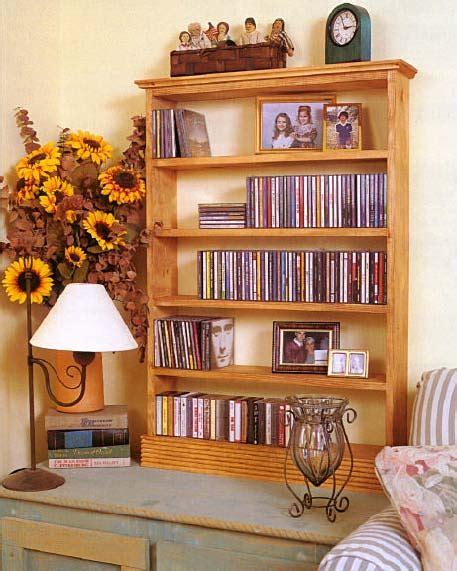 cd cabinet wood furniture plans