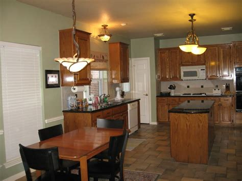 sw svelte paint color with oak cabinets forest ave house painting oak cabinets