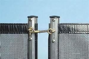 Cloture Souple Piscine : loquet inox de cl ture souple avec bec courbe ~ Edinachiropracticcenter.com Idées de Décoration
