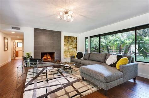 Modern Chic Living Room Ideas - mid century modern living room design idea designs ideas decors