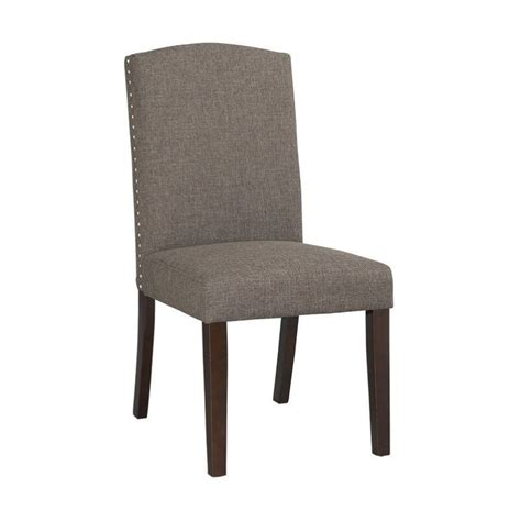 boraam chagne parsons upholstery dining chairs set of