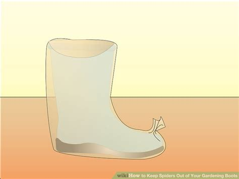 Keep Spiders Out Of Boat by How To Keep Spiders Out Of Your Gardening Boots 7 Steps