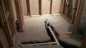basement bathroom construction ideas youtube With how to install bathroom in basement without rough in