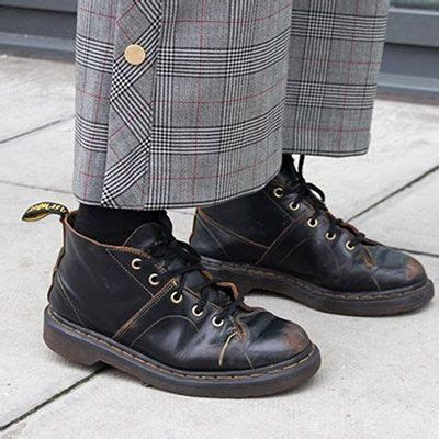 church vintage smooth boots dr martens  shoes