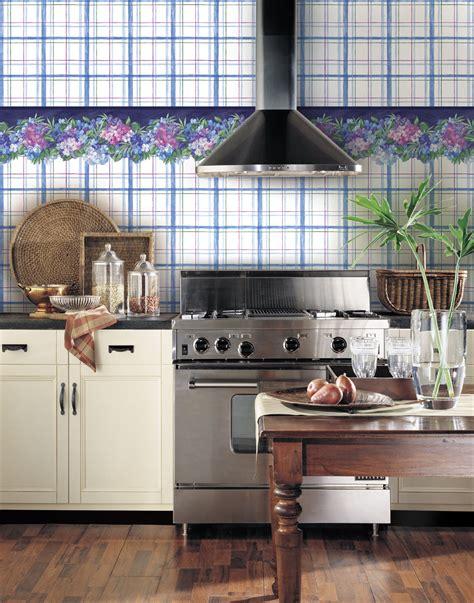 papier peint de cuisine deco cuisine papier peint